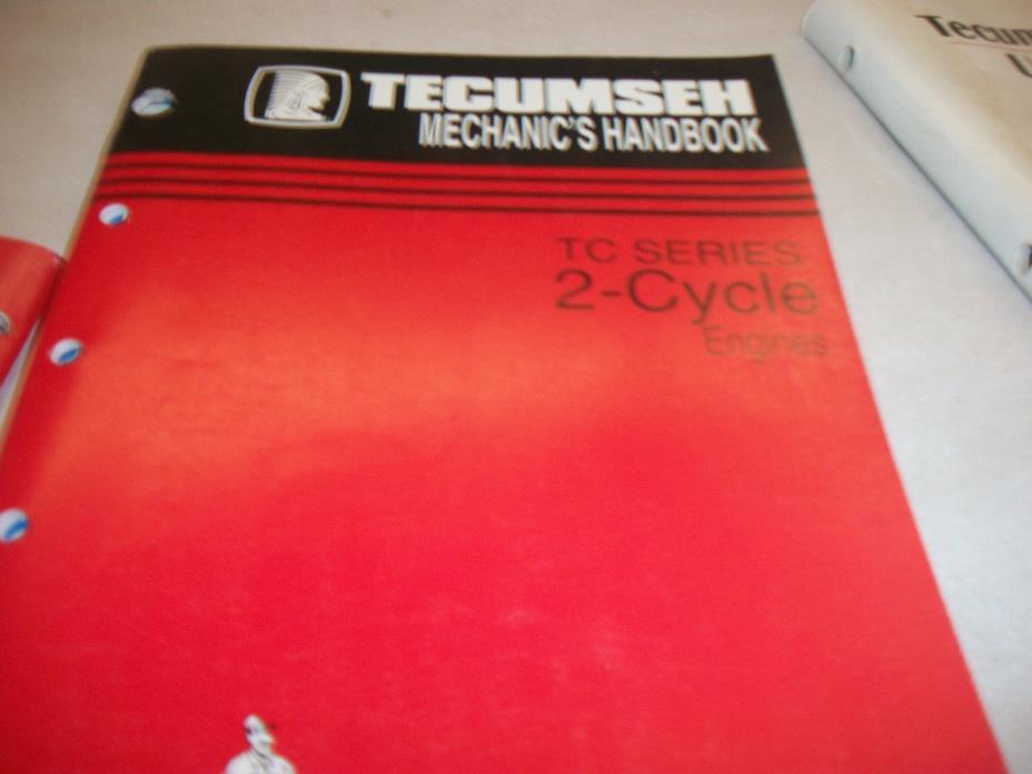 TECUMSEH ENGINE  REPAIR BOOK 2 CYCLE ENGINES 694782