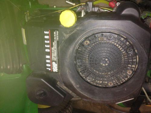 John Deere LT160 Kohler CV460S 16 hp engine