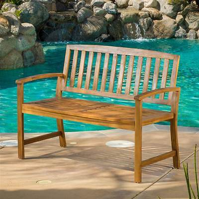 Outdoor Bench in Natural Finish [ID 3514471]