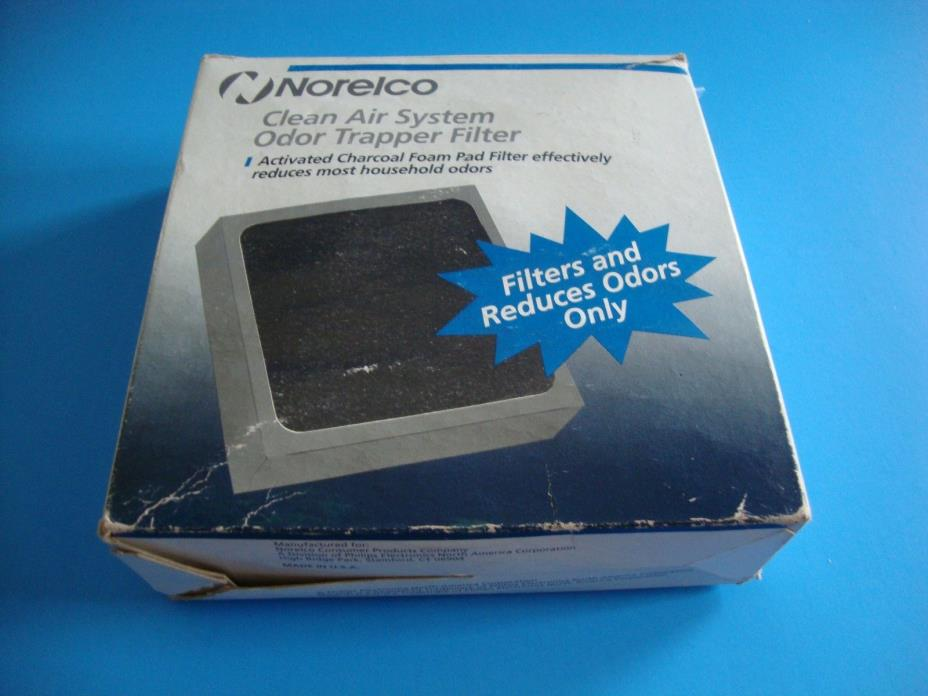 Norelco Clean Air System Odor Trapper Filter CAF50 Activated Charcoal Sealed