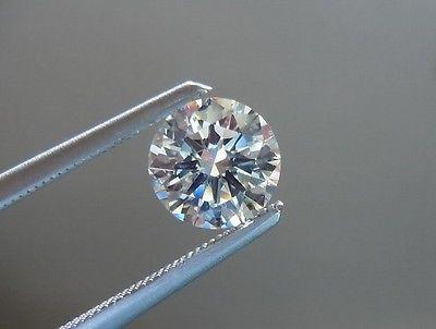 1.35 CT Round H I2 Loose Diamond! IGI