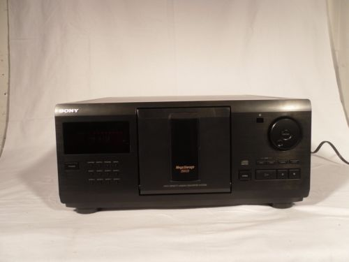 USED-SONY-CDP-CX255- Used Sony CDP-CX255 200 Disc CD Player