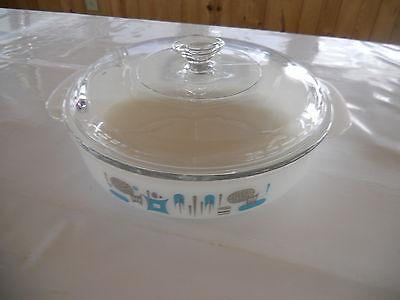 FIREKING, BLUE HAVEN  Casserole Dish/lid