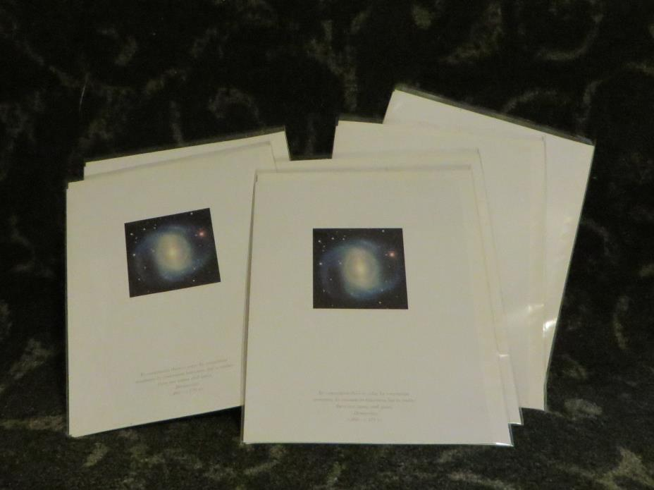 Spiral Galaxy Greeting Card, Paper House, 6 lot