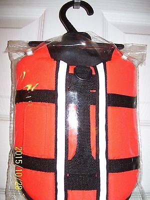 NEW Orange Safety DOG  Pet Vest size XS LIFE JACKET