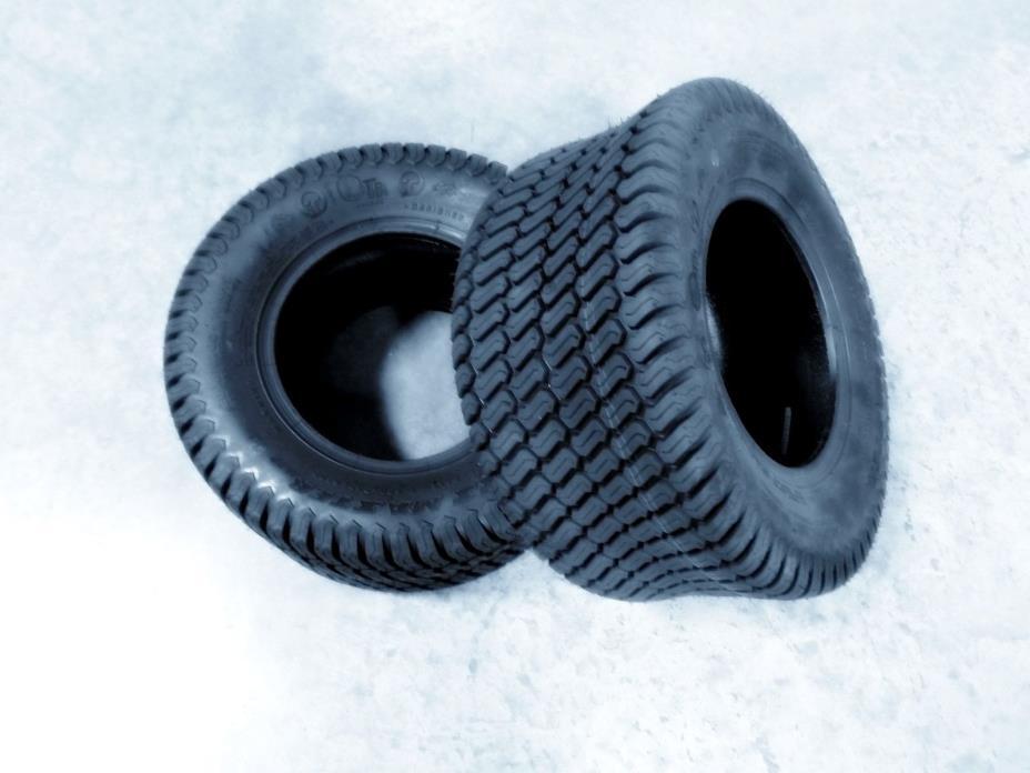 TWO 26X12.00-12 26X12-12  OTR GrassMaster Turf Tires 6 ply Rated Heavy Duty