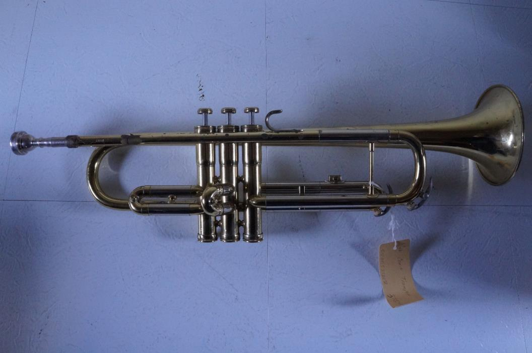 1975 CONN 16B Trumpet Serial No. GD521202 & Hard Case w/ Mouthpiece