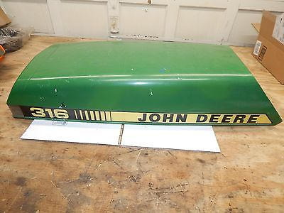 John Deere 316 Hood-Nice-LOOOK-USED