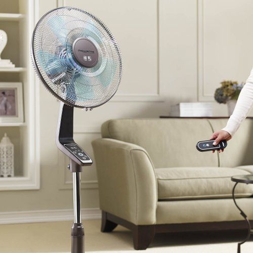 Pedestal Oscillating Cooling Fan With Remote Control 16