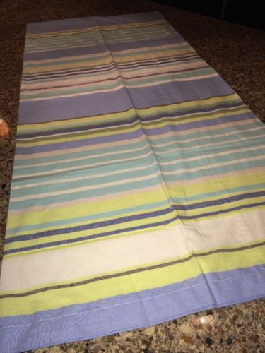 NWOT Martha Stewart Striped Valence 82x18