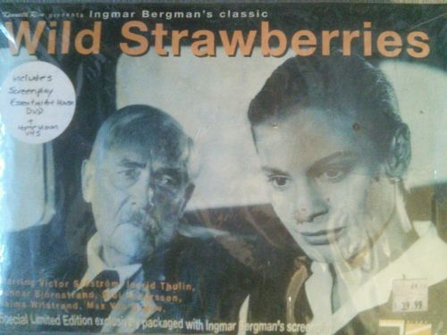 Wild Strawberries DVD/VHS/Screenplay Tartan Video (2000) Limited Edition