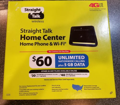 Straight Talk Huawei Home Center Home Phone and WiFi *Free USPS Shipping*