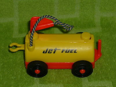Fisher Price Little People Vintage Airport Jet Fuel Gas Truck