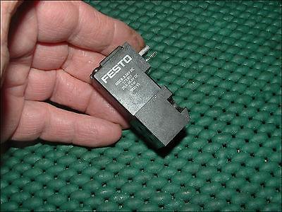 MSEB-3-24VDC FESTO ELECTRIC SOLENOID VALVE COIL 3BLADE PLUG-IN 24VDC 1.5-2.5W