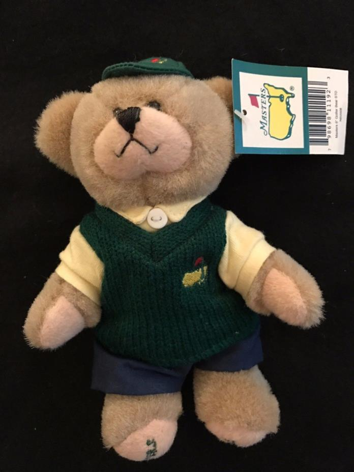 Masters Augusta 6 inches Golfer Teddy Bear 2008
