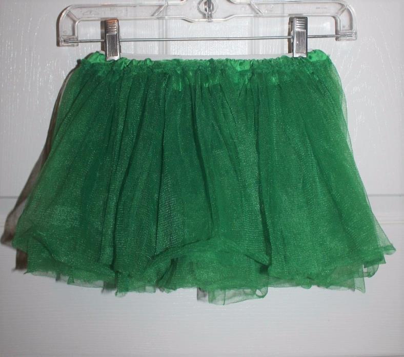 Toddler Girl's Size 4T Tutu Skirt Green