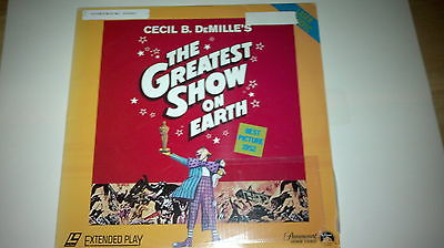 The Greatest Show on Earth (Charlton Heston 1952) Laserdisc (Discount Shipping)
