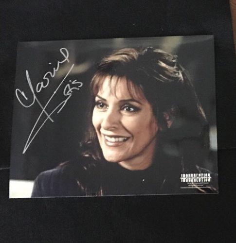 Marina Sirtis 8x10 Autograph Photograph Star Trek TNG Next Generation 50th COA