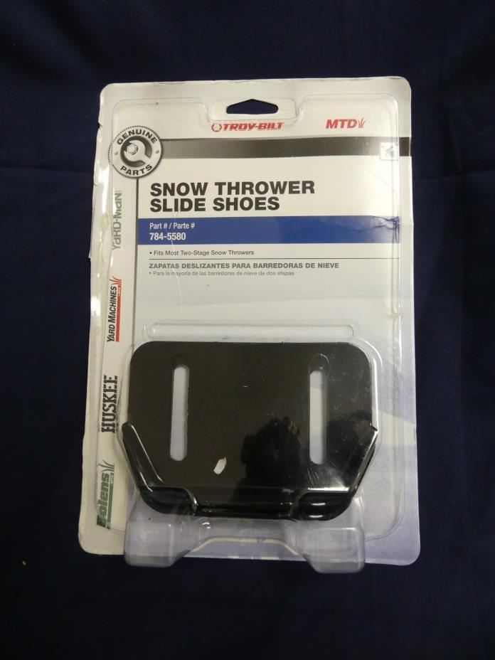 Snowblower Skid Shoe MTD Cub Cadet Troy Bilt Yardman Snowthrower Slide 784-5580