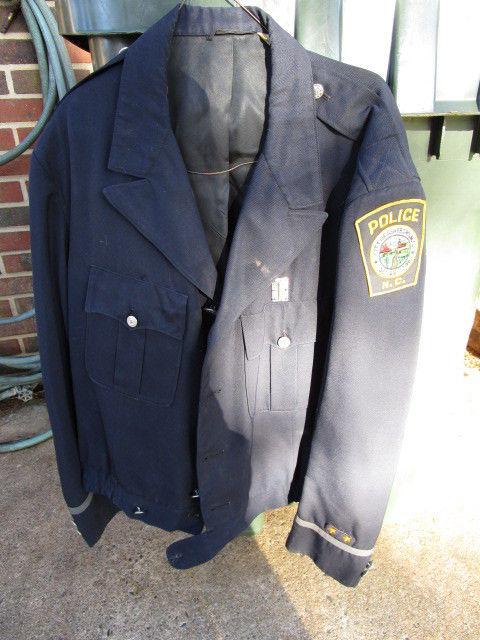 Vintage OBSOLETE 1950's / 60's Asheboro N.C. Police Uniform Jacket