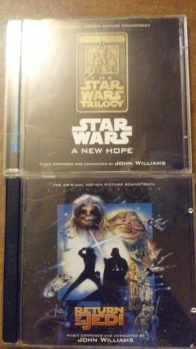 Star Wars Special Edition A New Hope and Return of the Jedi Soundtracks