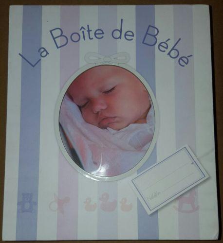 La Boite de BeBe Collectif Larousse Coffret Francais 48 Pages Livre Album Photos