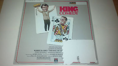 The King of Comedy (Jerry Lewis Robert Deniro) Laserdisc (Discount Shipping)