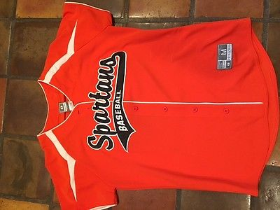 Spartans Holloway Baseball Jersey BRAND NEW Women's Medium