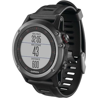GARMIN 010-01338-05 fenix(R) 3 Training Watch (Silver)