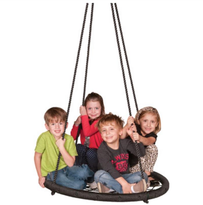 TIRE SWING SET TREE ACCESSORY OUTDOOR PLAY TOY HOLDS 600 LBS CHILDRENS BACKYARD