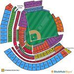 Cincinnati Reds vs Colorado Rockies Tickets 05/21/17. Section 531, Row P, 7 & 8