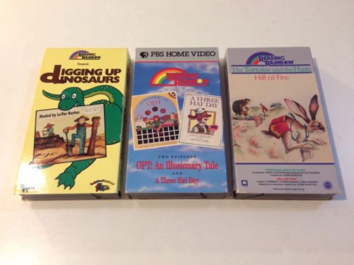 Reading Rainbow VHS Lot