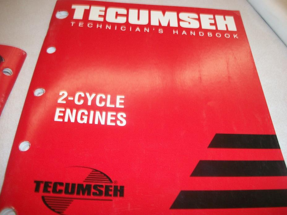 TECUMSEH ENGINE  REPAIR BOOK TWO 2 CYCLE 740047