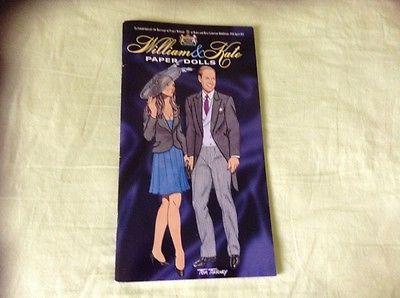 William n Kate Paper Doll Book