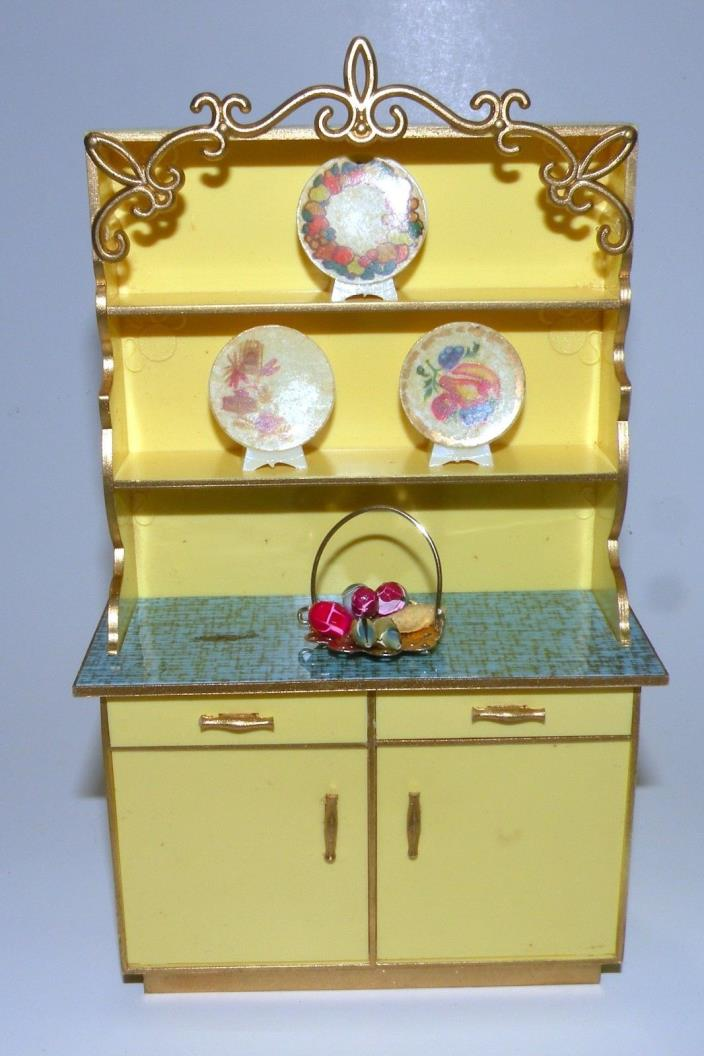 Ideal Petite Princess Patti Dollhouse Furniture Hutch in Box