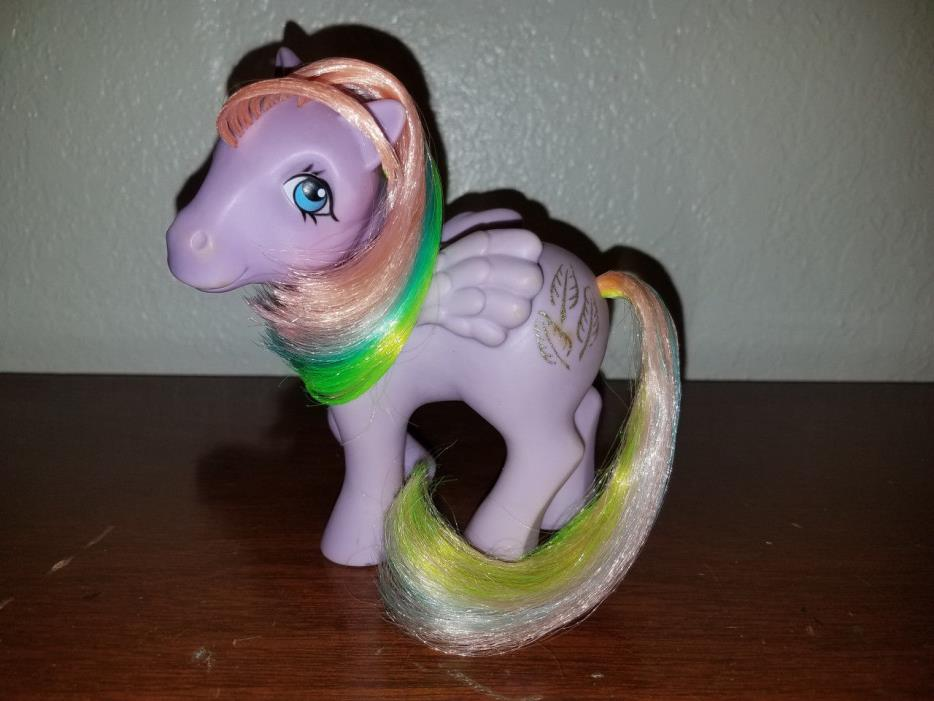 MLP My Little Pony/Ponies G1 Vintage 2nd Year Rainbow Pony Tickle
