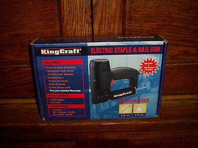 Electric Stapler Nailer- King Kraft Brand
