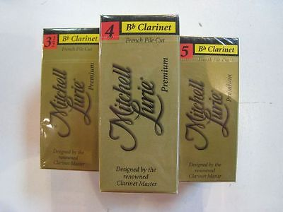 Mitchell Lurie Premium Bb Clarinet Reeds Strength 4