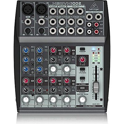 Behringer XENYX Powered Mixers 1002 10 Channel Audio Mixer