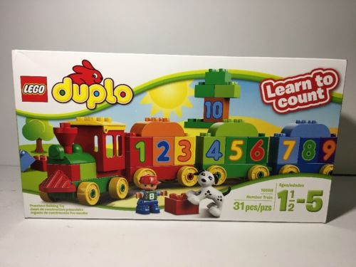 LEGO DUPLO Number Train 10558 Factory Sealed (please read)
