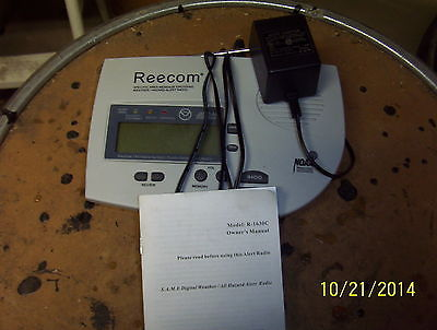 REECOM ANSWERING MACHINE W/ WEATHER RADIO
