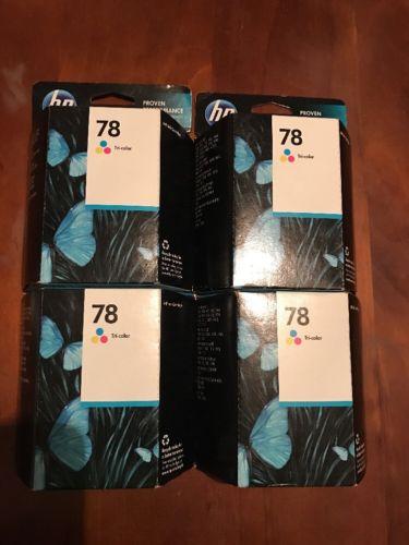HP 78 ink cartridges