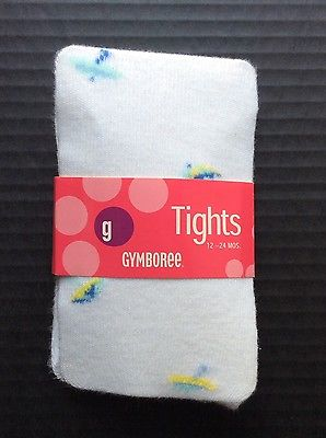 NWT GYMBOREE Vintage 2003 Vacation Time Tights Size 12 18 24 Months