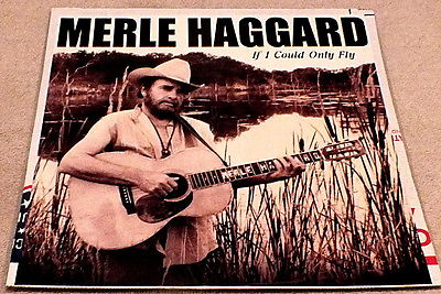 Merle Haggard If I Could Only Fly Poster Flat 2000 Guitar playing amid the reeds