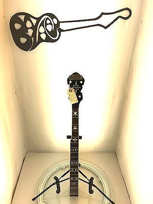 #5013 Gretsch G9400 Broadkaster Deluxe Banjo Project Neck Parts U-Fix CBG Level4