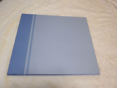 12X12 TOP LOAD SCRAPBOOK ALBUM/BLUE