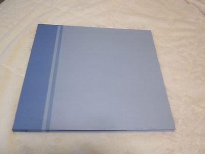 12X12 TOP LOAD SCRAPBOOK ALBUM/BLUE