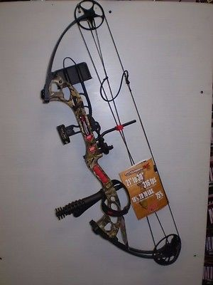 2017 PSE STINGER X   MOSSY OAK COUNTRY CAMO- RIGHT HANDED 60#