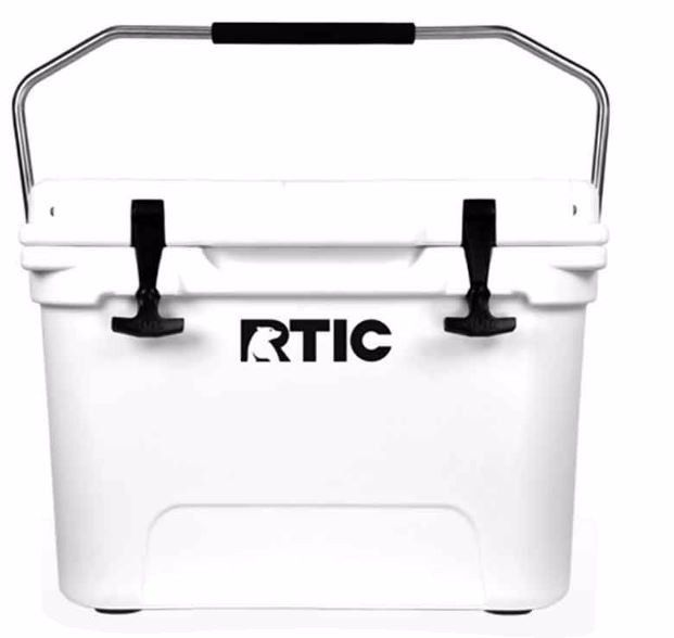 Rtic 20 Cooler Tan or White  New in the box  Rotomolded