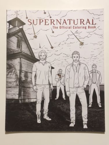Supernatural: The Official Coloring Book by Insight Editions (Paperback)